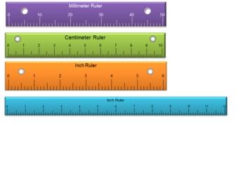 Plastic Ruler Digital 4-pack (PowerPoint)