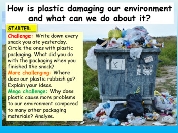 Plastic and Pollution