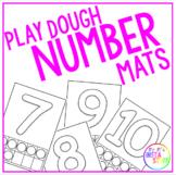 Play Dough Number Mats (0-10)