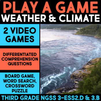 Play a Video Game about Extreme Weather - Science Station