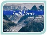 TECTONIC PLATE BOUNDARIES 2 of 2- 6th Grade Science Vocabulary {TEKS 6.10CD}