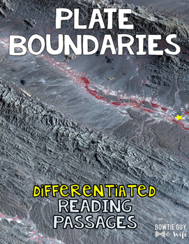 Plate Boundaries Differentiated Nonfiction Reading Passages
