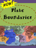 Plate Boundaries:  Divergent, Convergent and Transform