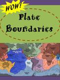 Plate Boundaries:  Divergent, Convergent and Transform