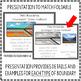 Plate Boundaries Foldable and Presentation- Convergent, Divergent, Transform