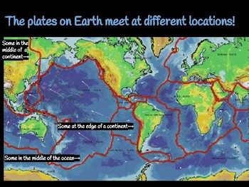 Plate Boundaries Form Crustal Features