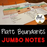 Plate Boundaries JUMBO Notes