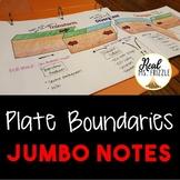 Plate Boundaries JUMBO Notes