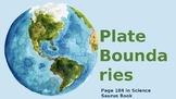 Plate Boundaries PowerPoint with Activities