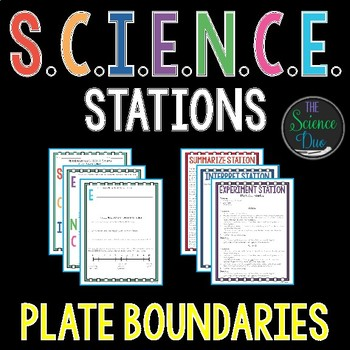 Plate Boundaries - S.C.I.E.N.C.E. Stations