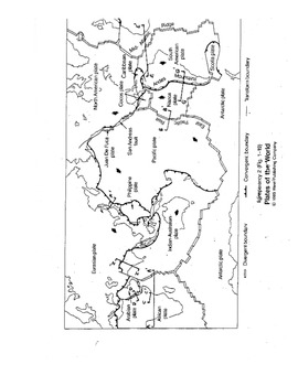 Plate Boundaries of the World Lab