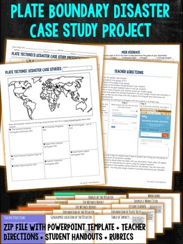 Plate Boundary Disaster Case Study Presentations