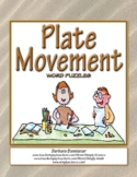 Plate Movement Word Puzzles ★ FREEBIE ★