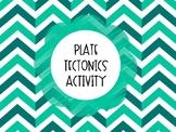 Plate Tectonics Activity (VA SOL 5.7e)