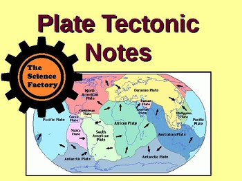 Plate Tectonic Notes PowerPoint