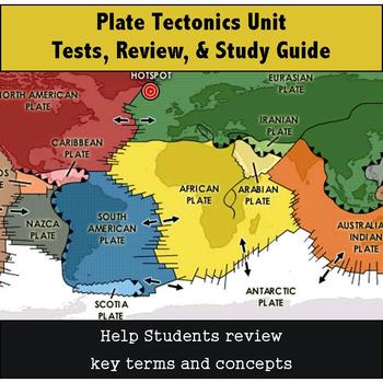 Plate Tectonics Review, Study Guide & Tests