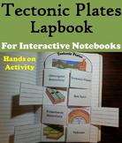 Plate Tectonics Interactive Notebook/ Tectonic Plates Foldable (Geology Unit)