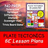 Plate Tectonics 5 E Lesson Plan