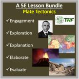 Plate Tectonics - 5E Lesson Bundle