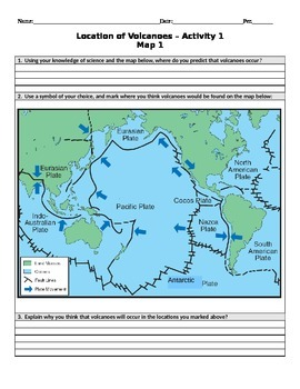 Plate Tectonics 5E Lesson Plans