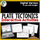 Plate Tectonics Activities - Digital / Google Edition