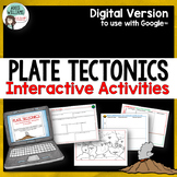 Digital Plate Tectonics Activities for use with Google