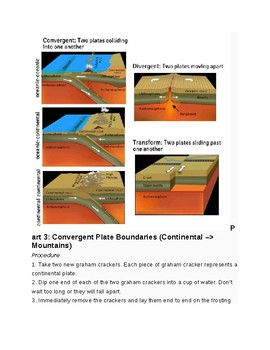 Plate Tectonics Activity