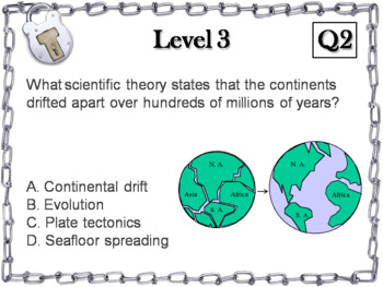 Plate Tectonics Activity: Escape Room - Science