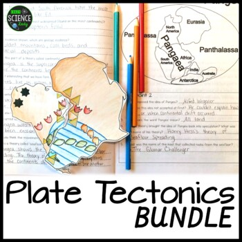 Plate Tectonics BUNDLE (Now with Student Workbook!!): Print and GOOGLE Version