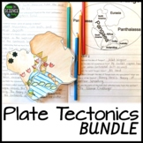 Plate Tectonics BUNDLE (Now with Student Workbook!!): Prin