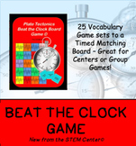 Plate Tectonics Beat the Clock Board Game: Make Learning Fun!