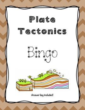 plate tectonics bingo by joyful rigor with ms jones tpt. Black Bedroom Furniture Sets. Home Design Ideas