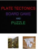 Plate Tectonics Board Game and Puzzle