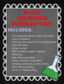 Plate Tectonics Bundled Unit