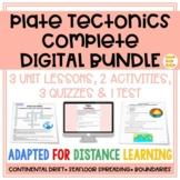 Plate Tectonics: COMPLETE UNIT BUNDLE | Distance Learning