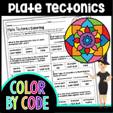 Plate Tectonics Color By Number | Science Color By Number