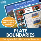 Plate Tectonics Complete 5E Lesson Plan