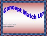 Plate Tectonics Concept Match Up 8.9b