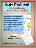 Plate Tectonics Content Reading and Activities