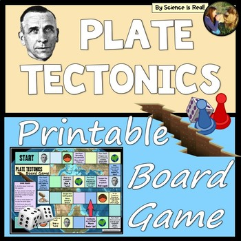 Plate Tectonics Board Game WITH Questions!