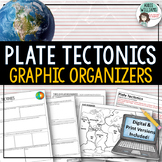 Plate Tectonics / Boundaries Organizers | PRINT & DIGITAL Distance Learning