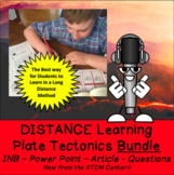 Plate Tectonics & Continental Drift Long Distance Learning Bundle