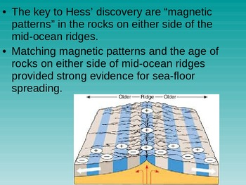 Plate Tectonics, Continental Drift, and Sea Floor Spreading