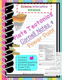 Plate Tectonics: EARTH SCIENCE CORNELL NOTES AND PRESENTATION BUNDLE