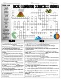 Plate Tectonics Crossword