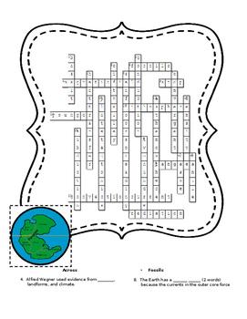 Earthquakes - Crossword Puzzle
