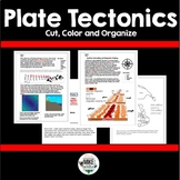Plate Tectonics Color, Cut and Organize