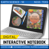 Plate Tectonics DIGITAL NOTEBOOK - Google Classroom / Dist