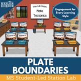 Plate Tectonics Student-Led Station Lab
