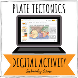 Plate Tectonics Digital Activity (TEKS) for Distance Learn